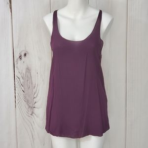 Brandy Melville Tank Top Purple Racerback One Size